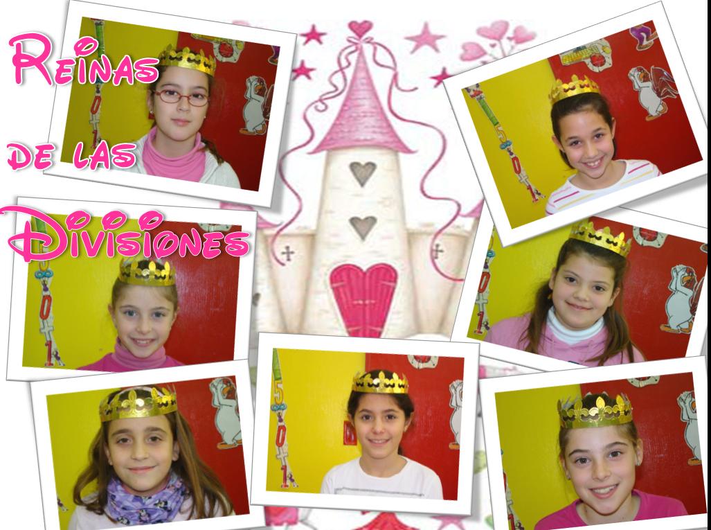 Felicitamos a las Reinas de lasDivisiones